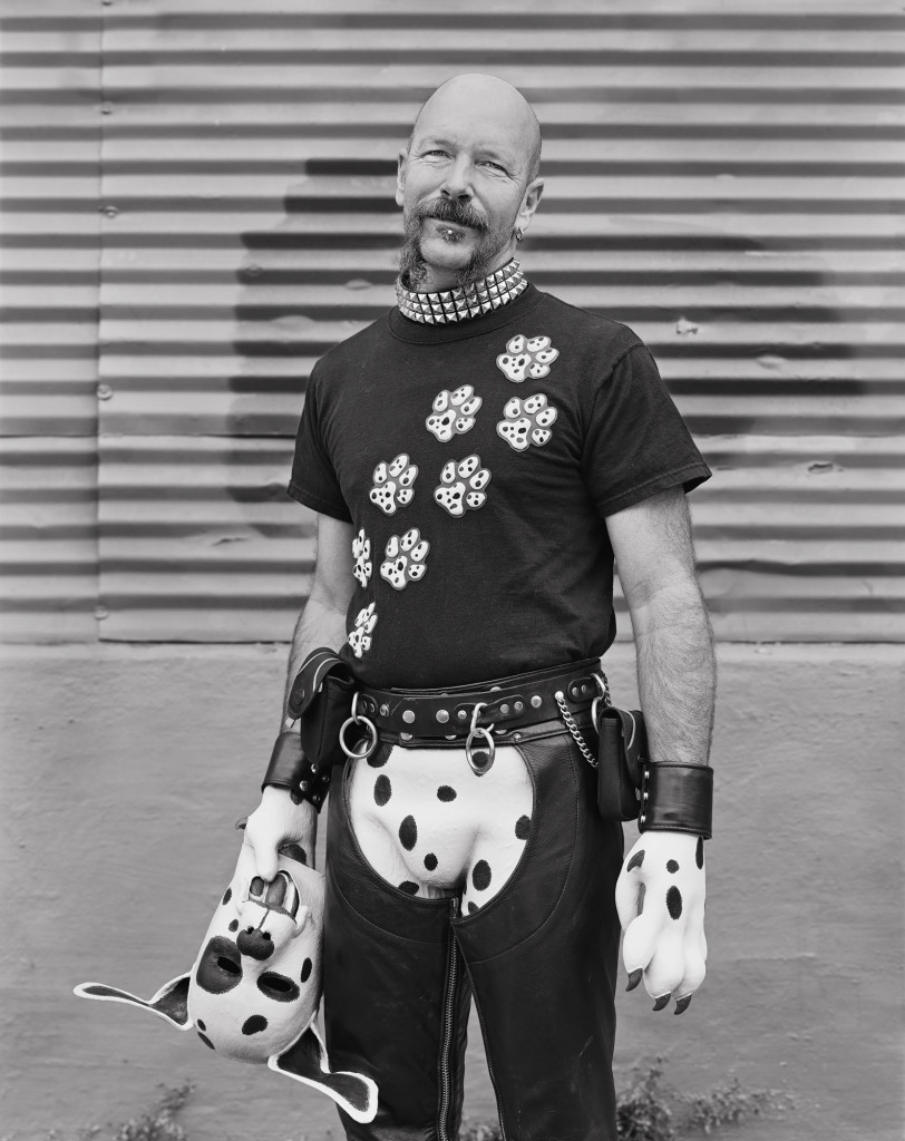 Black and white photograph of Rubberdawg, Up Your Alley Festival, San Francisco, California, 2007